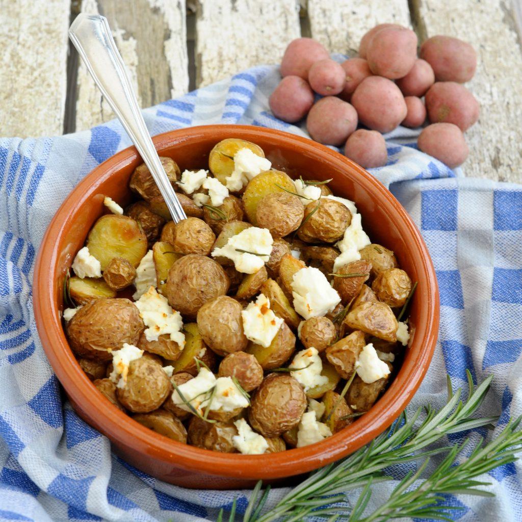 Cherry Potatoes op Griekse wijze